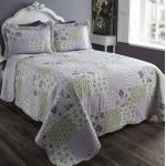 Baltimore Lavender Bedspread Set - KS