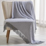 Ascot Throw Grey - 130cm x 170cm