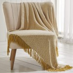 Ascot Throw Ochre - 130cm x 170cm