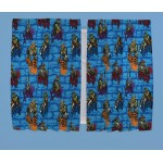 "Teenage Mutant Ninja Turtles 'Urban' Curtains - 66"" x 54"""
