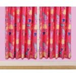 """Peppa Pig 'Funfair' Curtains - 66"""" x 54"""""""