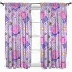 "Peppa Pig 'Happy' Curtains - 66"" x 72"""