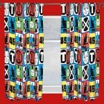 """Thomas 'Team' Curtains - 66"""" x 54"""""""