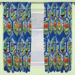 "TMNT 'Dimension' Curtains - 66"" x 54"""