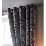 """Amelia Steel - 66x54"""" Curtains"""