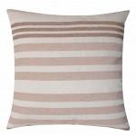 "CC Chenille Stripe Nat - 16"" Cushion Cover"