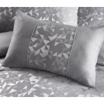 Boudoir Lucien Silver - Filled Cushion