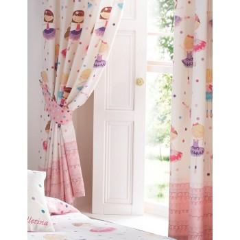 "Ballerina - 66x72"" Curtains"