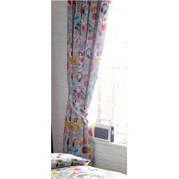"Dance Crew - 66x72"" Curtains"