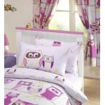 "Hoot - 66x72"" Curtains"