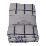 3 Pack Tea Towels - Fancy Stripe Blue