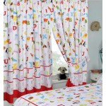 "ABC - 66x54"" Curtains"