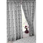 "Annette Black - 66x72"" Curtains"