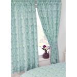 "Annette Duck Egg - 66x72"" Curtains"