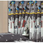 """Cops & Robbers - 66x72"""" Curtains"""