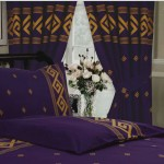 "Athens Purple - 66x72"" Curtains"