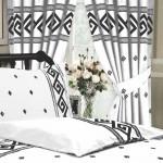 "Athens White - 66x72"" Curtains"