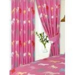 """Horses Pink KZKZ - 66x72"""" Curtains"""