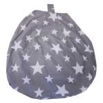 Stars Grey - Bean Bag Cover