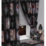 "The Story Of The Rose - 66x72"" Curtains"
