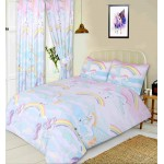 "Unicorns - 66x72"" Curtains"