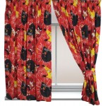 """Angry Birds 'TNT' Red - 66x54"""" Curtains"""