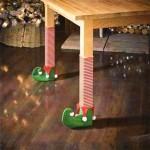 Felt Boots Elf 4PK - Xmas Chair Legs