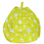 Stars Yellow - Bean Bag Cover