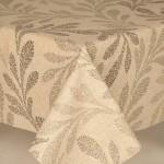 Acrylic Fern Leaves - Acrylic Coated Table Cloth Range