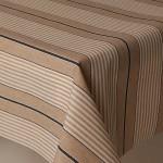 Acrylic Harbour Stripes Blue - Acrylic Coated Table Cloth Range