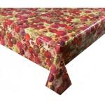 PVC Baubles Red - Vinyl Table Cloth Range