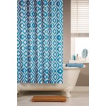 Shower Curtain Set - Pattern Ikat