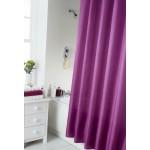 Shower Curtain Set - Plain Berry