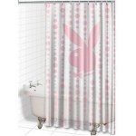 Shower Curtain Set - Playboy Bubbles