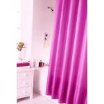 Shower Curtain Set - Plain Fuchsia Pink