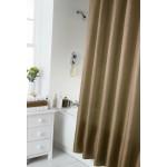 Shower Curtain Set - Plain Latte