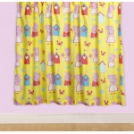 "Peppa Pig 'Seaside' Curtains - 66"" x 54"""