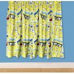"Spongebob 'Framed' Curtains - 66"" x 54"""