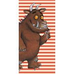 The Gruffalo 'Oh Help' Stripes - Beach Towel