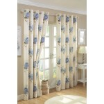 "Aston Blue - 66x54"" Curtains"