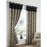 "Corvette Black - 66x90"" Curtains"