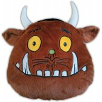 The Gruffalo Head - Shaped Cushion