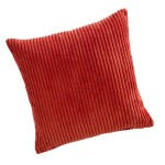 "CC Jumbo Cord Burnt Orange - 17"" Cushion Cover"