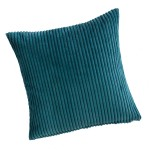 "CC Jumbo Cord Kingfisher - 17"" Cushion Cover"