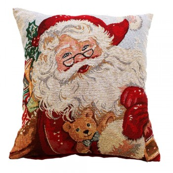 "CC Xmas Father Christmas - 17"" Cushion Cover"