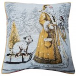 "CC Xmas Twilight Santa - 17"" Xmas Cushion Cover"