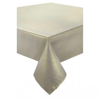 Glitter Cream / Gold Placemats 2 Pk - Xmas Table Cloth Range