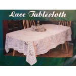 "SIMACO Lace White 70""x90"" Oval - Table Cloth Range"