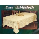 "SIMACO Lace Ecru 34""x34"" - Table Cloth Range"
