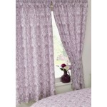 "Annette Plum - 66x72"" Curtains"